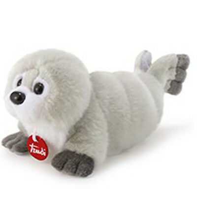 Peluche Foca RENZO Trudi Seal 27 cm Top quality made in Italy