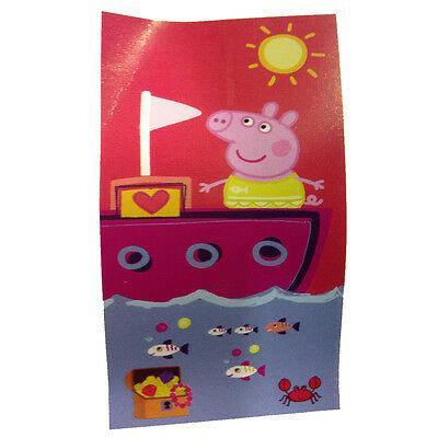 PEPPA PIG telo mare in spugna fantasia con peppa 70x140 cm da bambina