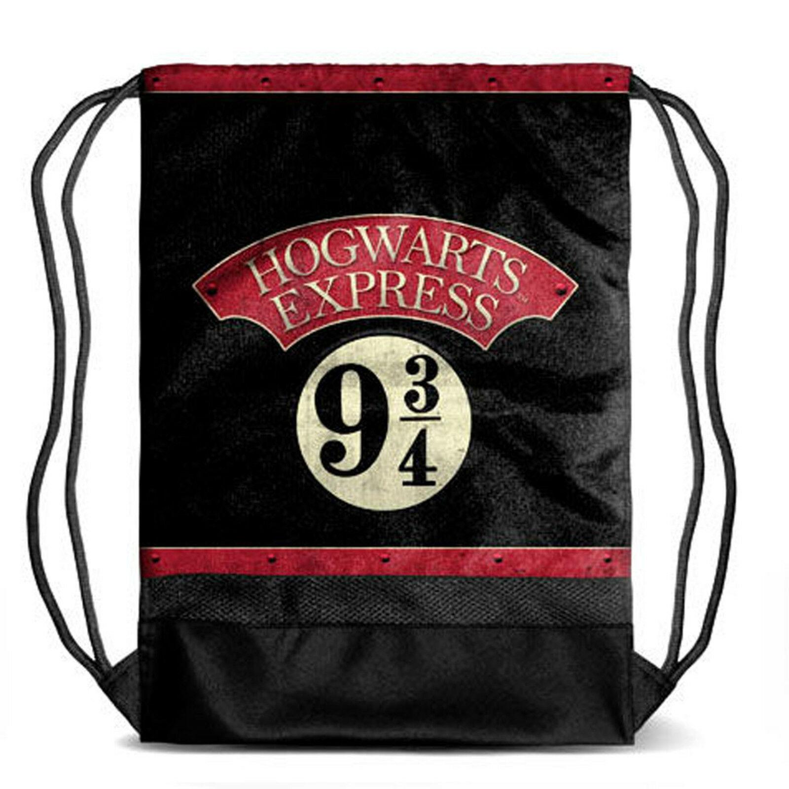 HARRY POTTER SACCA Hogwarts Express 9 3/4 DIM. 31X27X15 cm  COLORE NERO/ROSSO