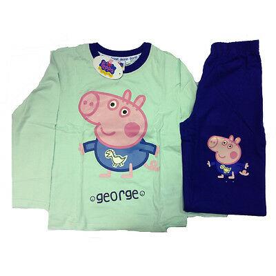 PEPPA PIG piagiama maglia maniche lughe e pantaloni lunghi in cotone da bambino