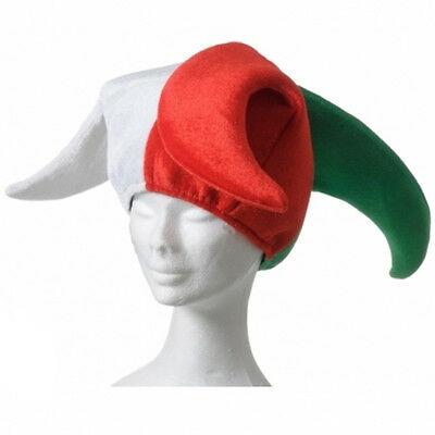 Cappello da giullare NAZIONALE ITALIA 100% poliestere