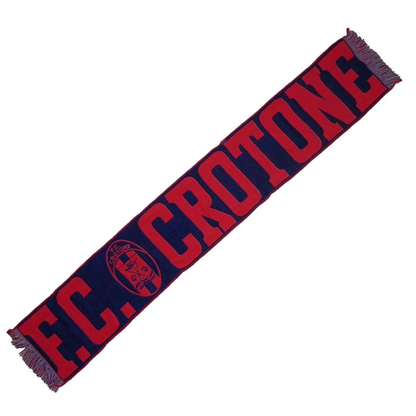 FC CROTONE sciarpa in jacquard stadio prodotto ufficiale