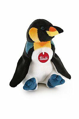 Peluche Trudi Pinguino 33cm cod.26672 Top quality made in Italy
