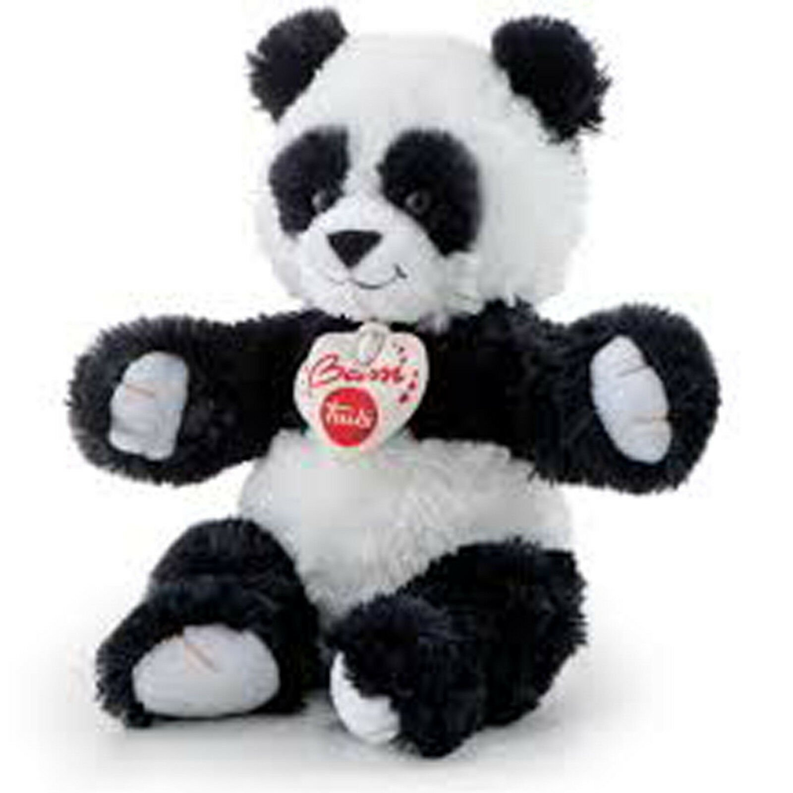 Panda BEST BUSSI  TRUDI cm 20 Top quality made in Italy