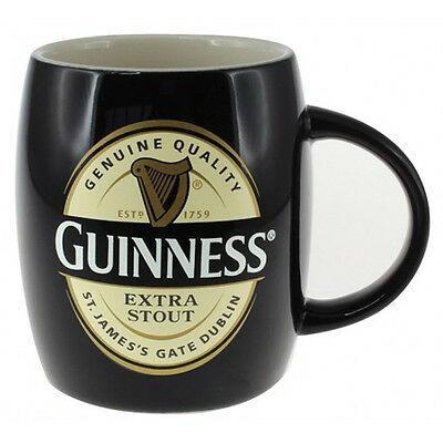 Tazza nera in ceramica Guinness BARREL MUG