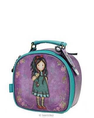 Beauty Gorjuss piccolo ecopelle tasca zip interna colore viola-verde by SANTORO