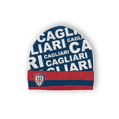 CAGLIARI CALCIO cappello con scritte CAGLIARI CALCIO E CREST RICAMATO