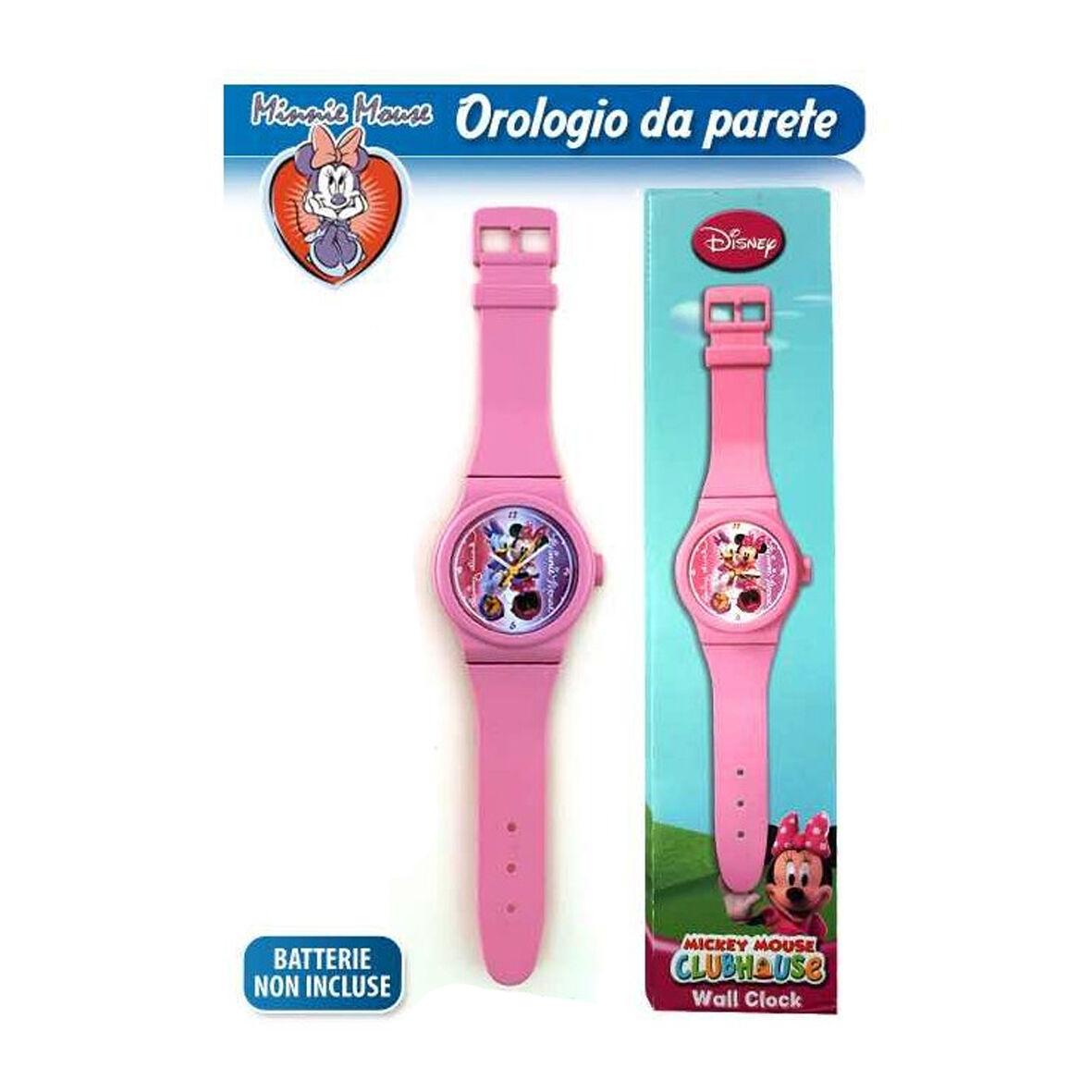 MINNIE TOPOLINA orologio da polso per parete rosa 92 cm idea regalo