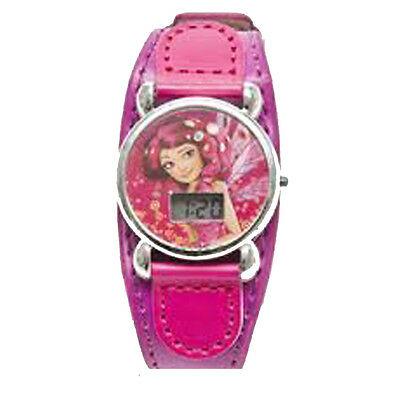 MIA E ME orologio da polso digitale fucsia e viola in ecopelle da bambina