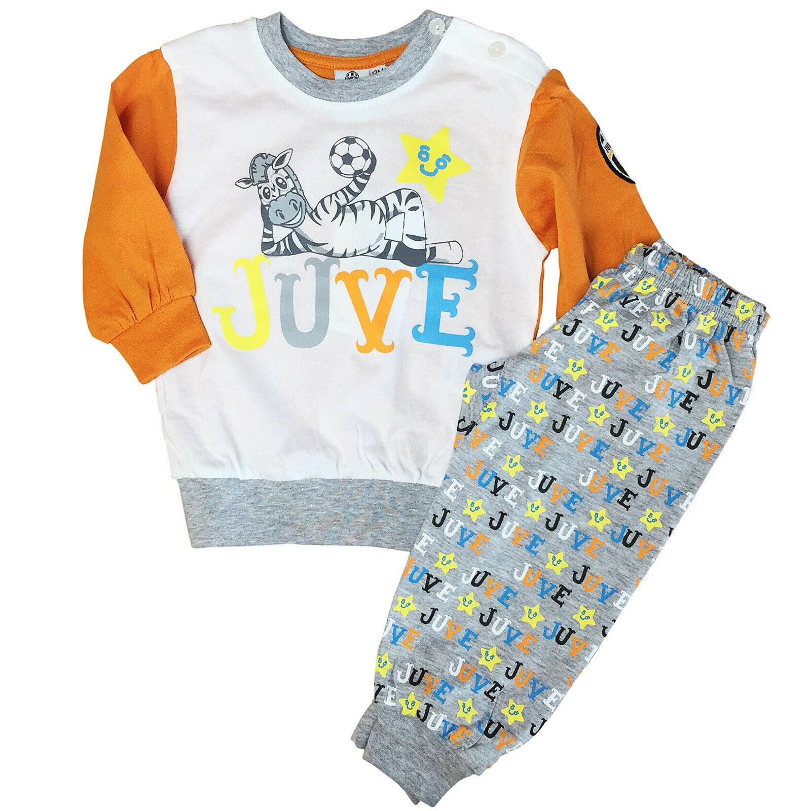 JUVENTUS pigiama tutina 2 pezzi in jersey colorata varie taglie prodotto ufficia