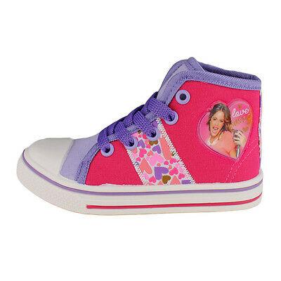 VIOLETTA scarpe di tela alte rosa misura 31 da bambina
