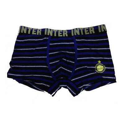 INTER boxer fantasia  in cotone underwear taglia 16 anni da bambino
