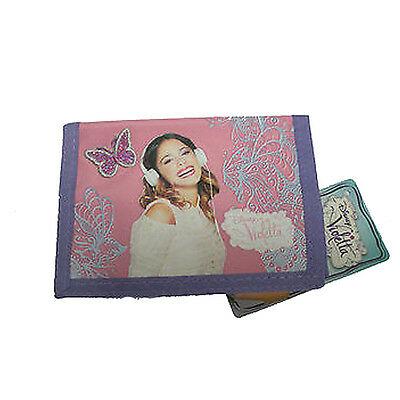 VIOLETTA portafoglio con strappo in stoffa da bambina