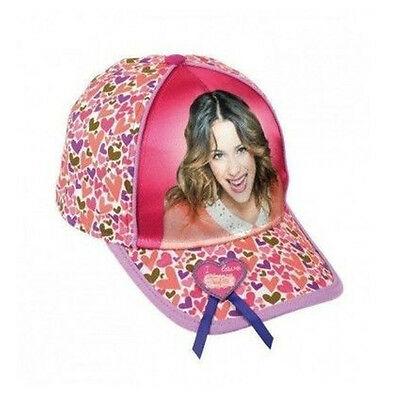 VIOLETTA cappello con visiera fantasia multicolor con stampa lucida in cotone