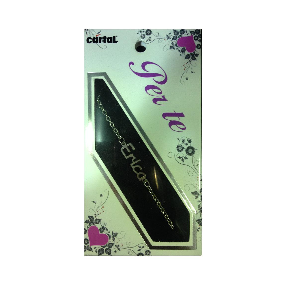 PER TE braccialetto con nome ERICA idea regalo femminile ed elegante