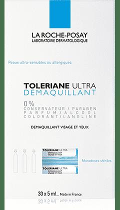 La Roche Posay Toleriane Ultra Demaquillant 30 monodosi sterili da 5 ml