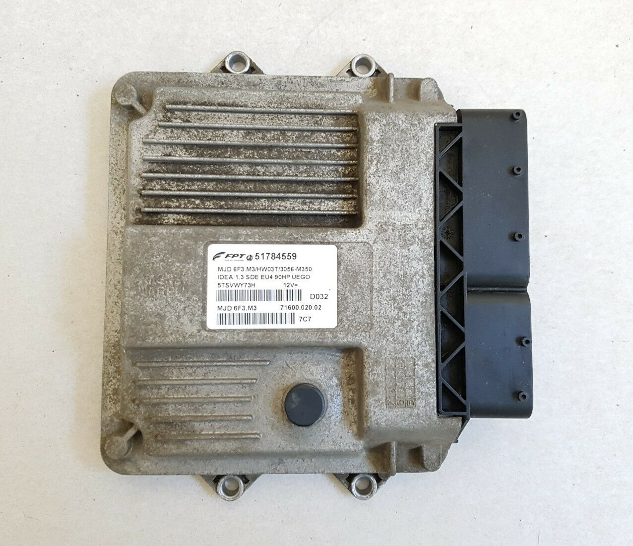 centralina motore fiat idea lancia musa 1.3 multijet 90cv originale