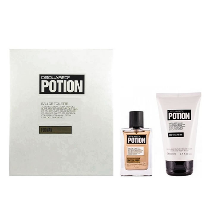 Dsquared2 Potion Eau De Toilette Spray 50ml Set 2 Parti 2020