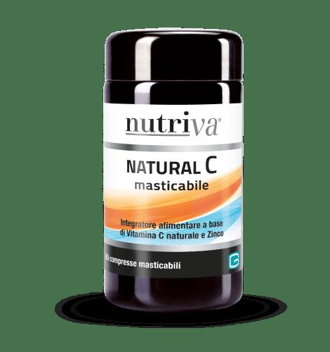 Nutriva Natural C Masticabile 60 Compresse