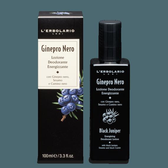 Ginepro Nero Lozione Deodorante Energizzante 100 ml