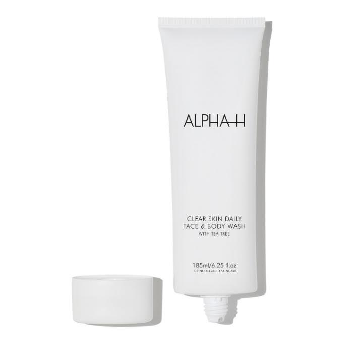 Alpha H Clear Skin Daily Face & Body Wash 200ml