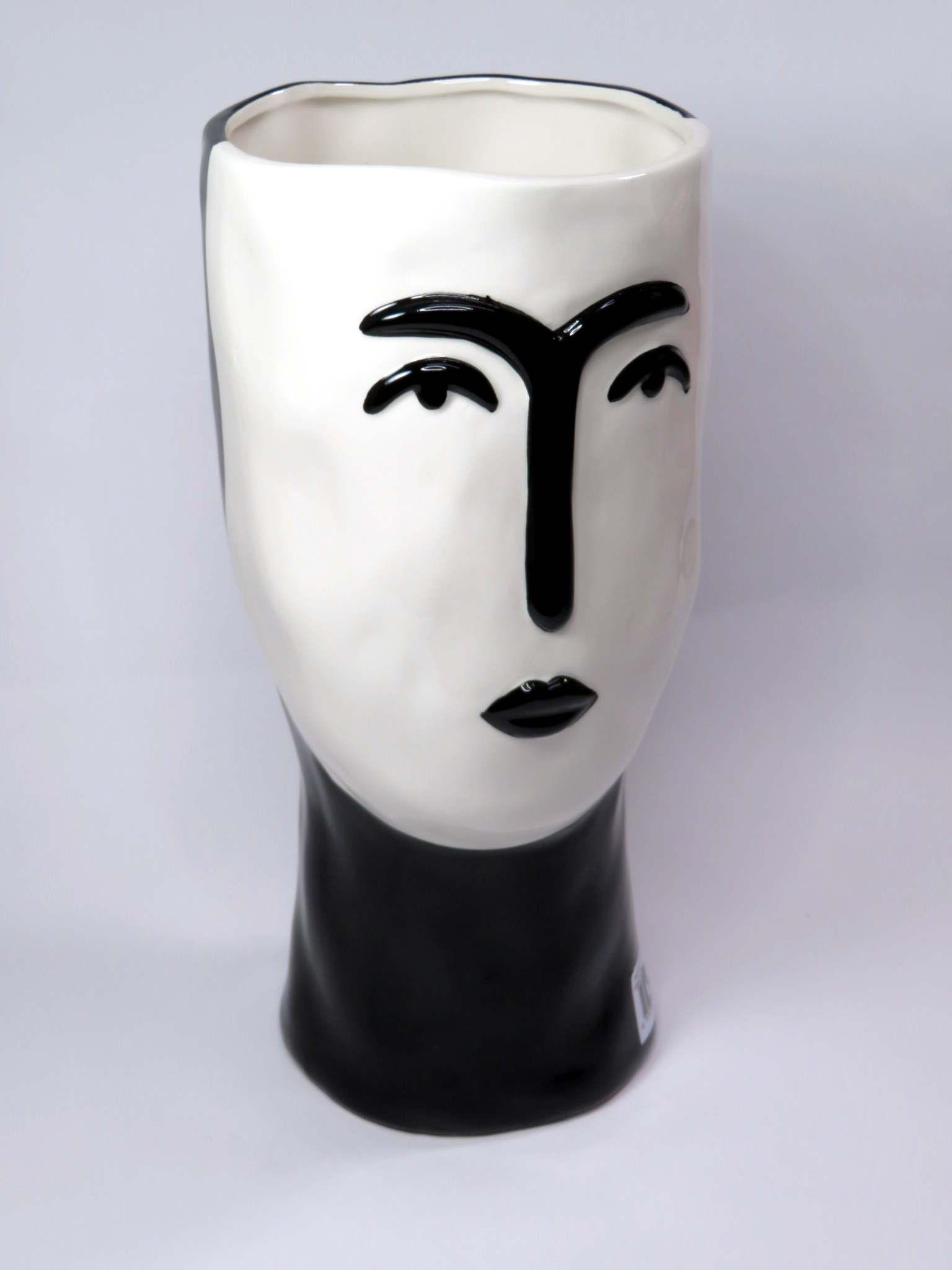 Vaso porcellana Faccia cm29