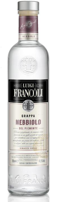 Grappa Nebbiolo del Piemonte