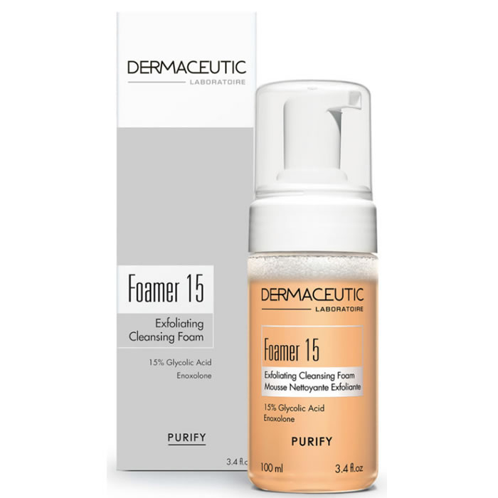 Dermaceutic Foamer 15 Exfoliating Cleansing Foam 100ml