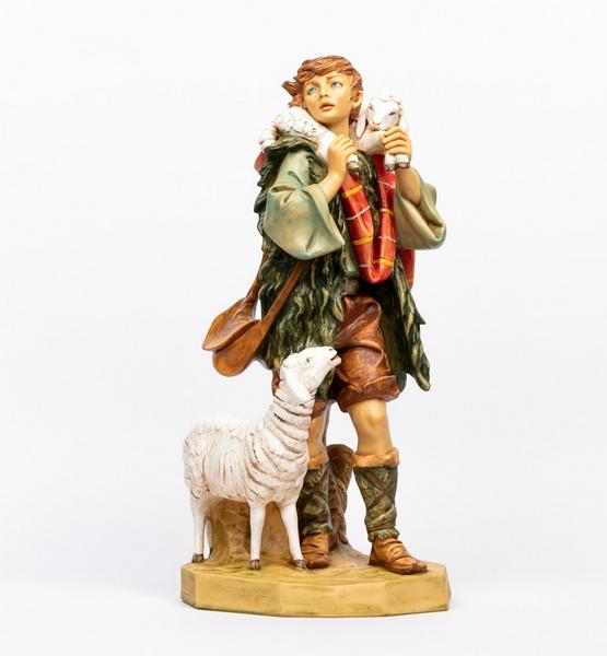 Pastore con pecore cm. 65
