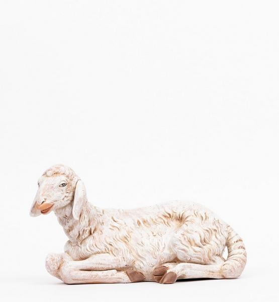 Pecora seduta per presepe cm. 65