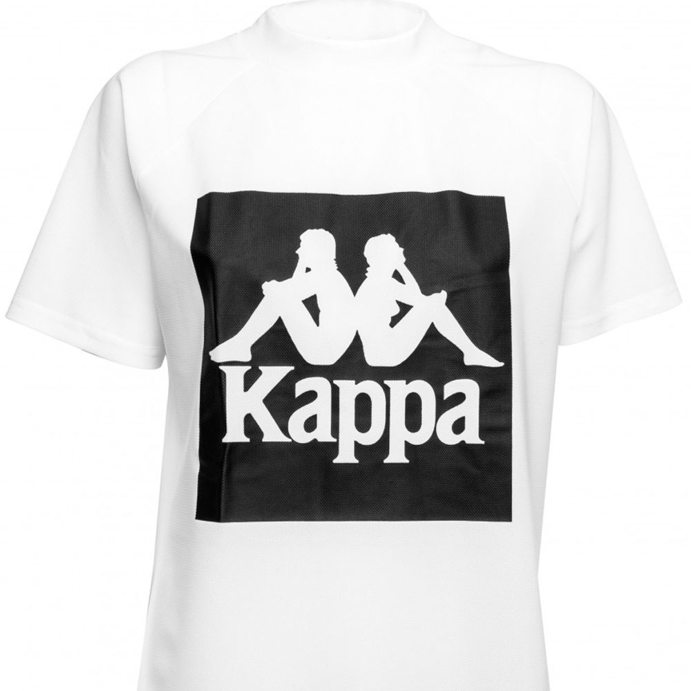 Kappa T-shirt Bianca da Donna