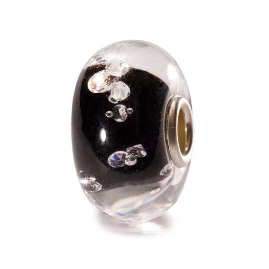 Beads Trollbeads, Diamante Nero