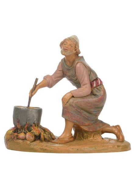 Uomo che cucina cm 12