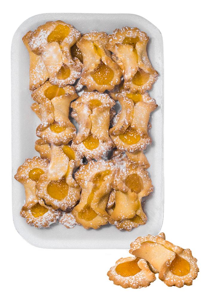 Cannolicchi con ripieno marmellata
