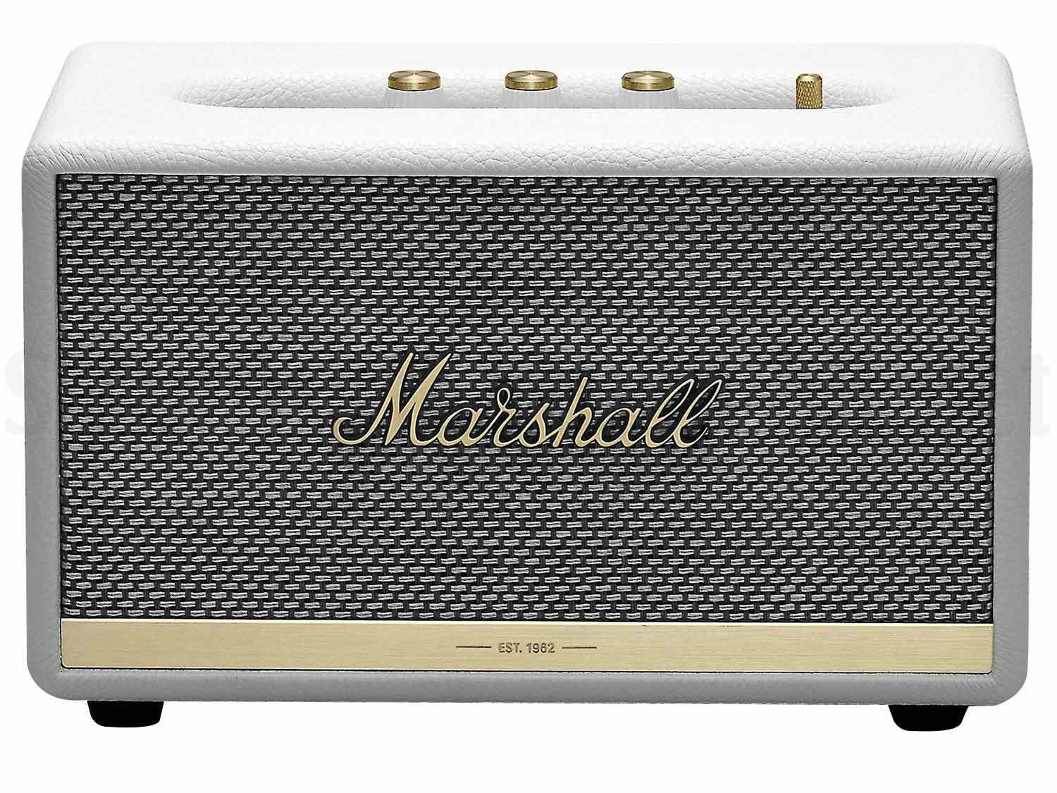 Marshall Acton II BT White - 60Watt stereo bluetooth altoparlante cassa wireless