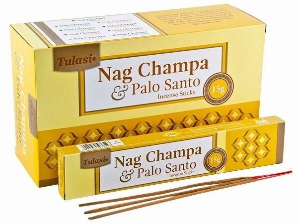 BOX INCENSO NAG CHAMPA & PALO SANTO