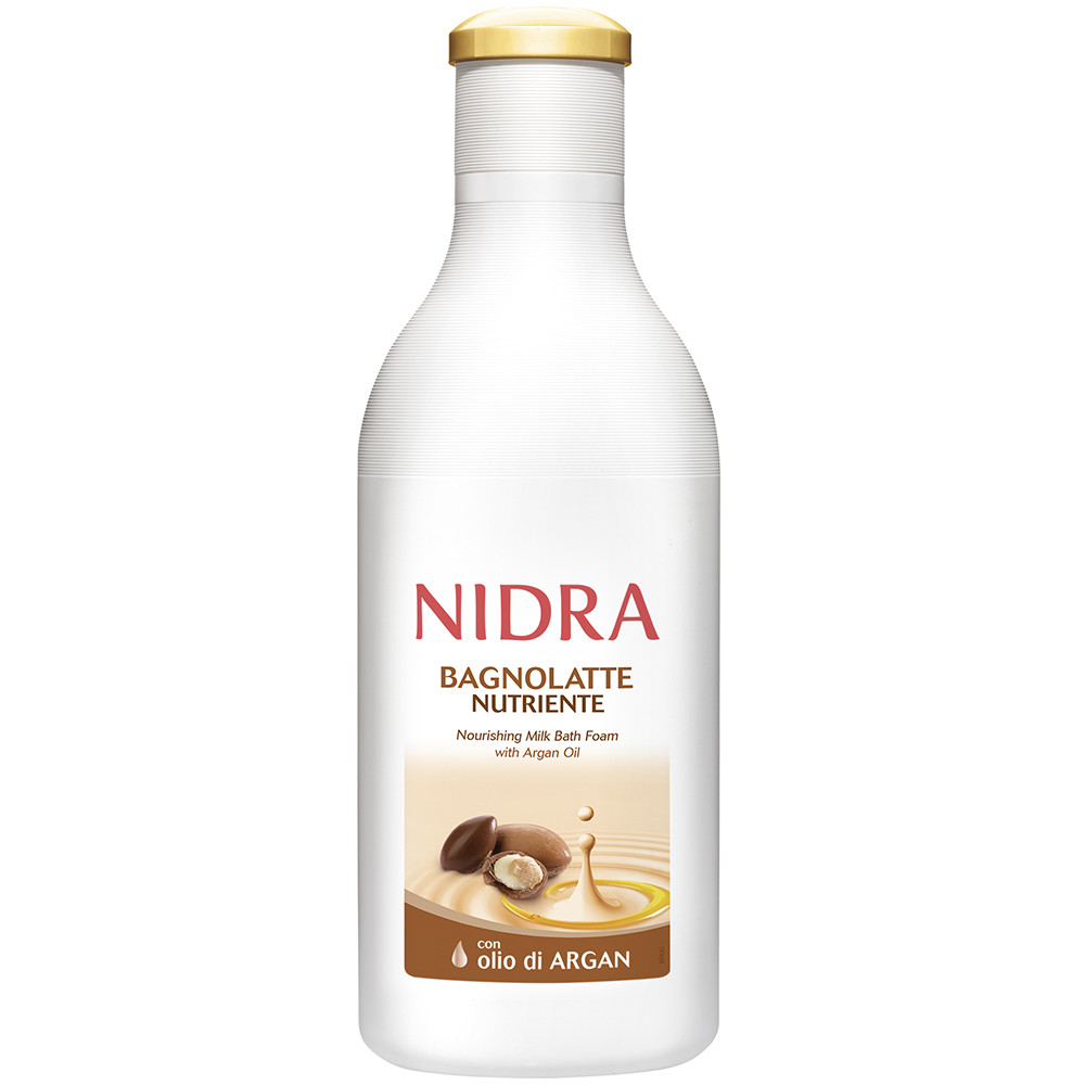 NIDRA Bagnolatte all'olio di Argan Nutriente 750ml