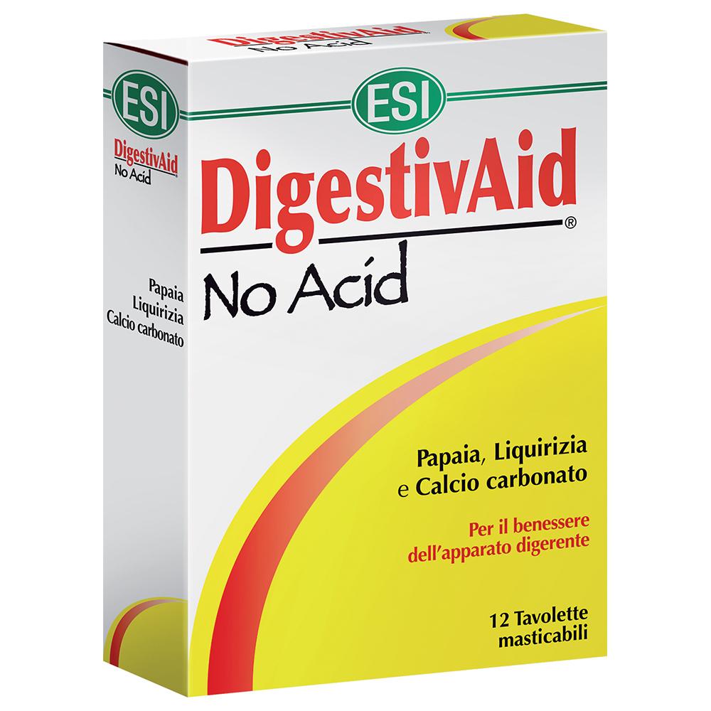 Esi DigestivAid No Acid 12 Tavolette