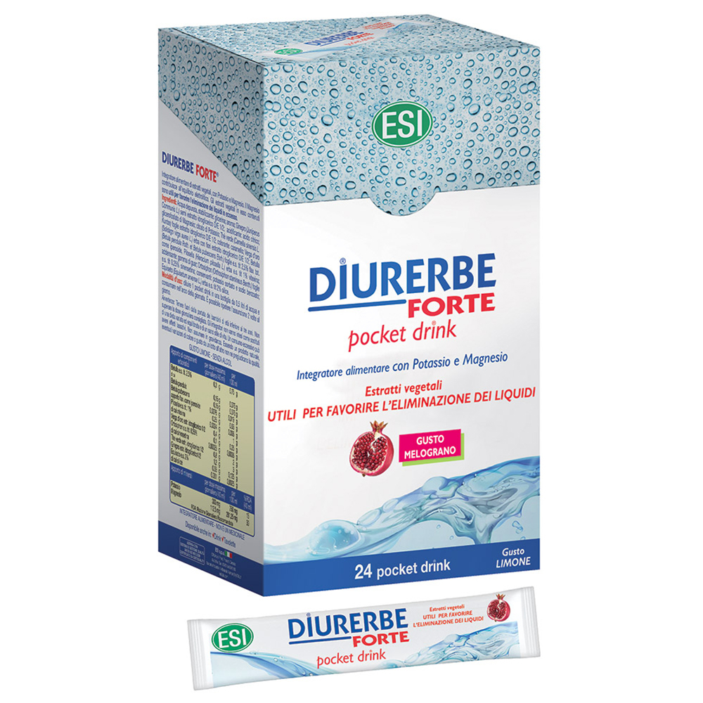 Esi Diurerbe Forte 24 Pocket Drink Melograno