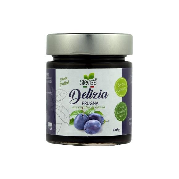 Composta di Prugna - Con estratto di Stevia - senza zuccheri aggiunti