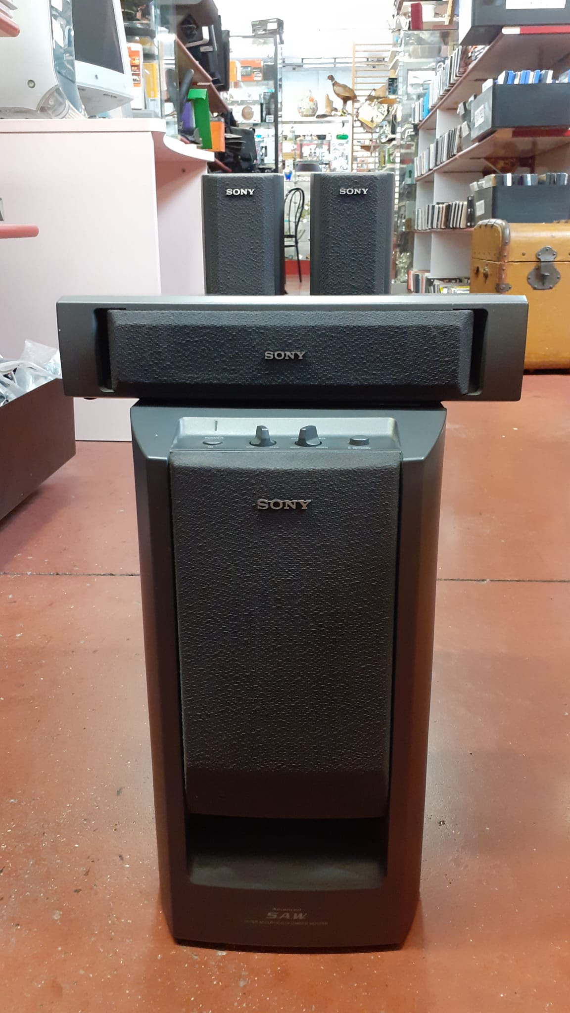 Home Teather Completo Di 5 Casse + Sub Sony Modello TA-VE 150