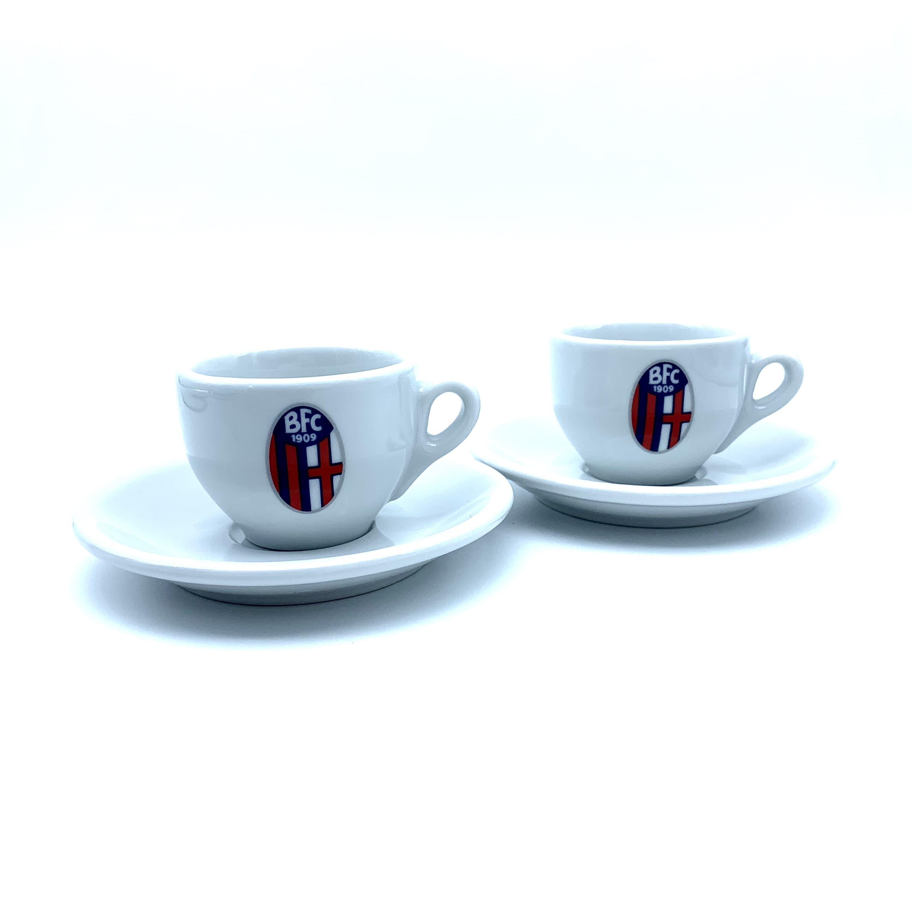 SET TAZZINE DA CAFFÈ Bologna Fc
