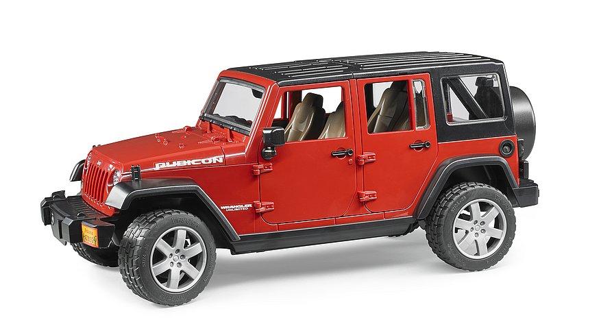 BRUDER 02525 - Jeep Wrangler RUBICON
