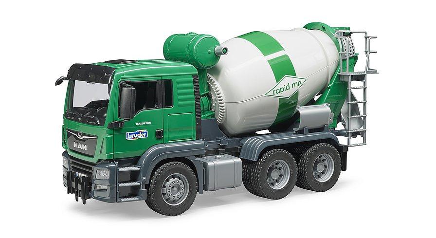 BRUDER 02710 - Camion betoniera MAN TGS