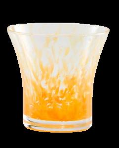 Bicchiere acqua Padova Granaglie arancio (6pz)