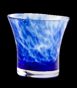 Bicchiere acqua Padova Granaglie blu (6pz)