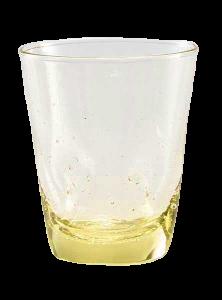 Bugne Water glass Bubble Venezia Yellow (6pcs)