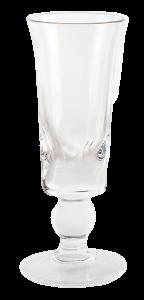 Coppa vetro soffiato trasparente (6pz)