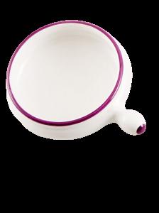 Keramikschale Lila (6stck)