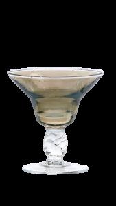 Eis Gläser Metallic-Grau (6 Stück)